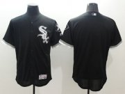 Wholesale Cheap White Sox Blank Black Flexbase Authentic Collection Stitched MLB Jersey