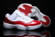 Wholesale Cheap Air Jordan 11 Low Cherry Varsity Red/White