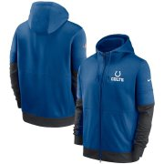 Wholesale Cheap Indianapolis Colts Nike Sideline Impact Lockup Performance Full-Zip Hoodie Royal