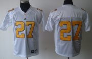 Wholesale Cheap Tennessee Volunteers #27 Arian Foster White Jersey