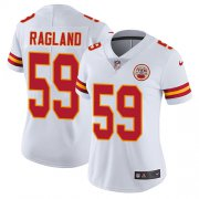 Wholesale Cheap Nike Chiefs #59 Reggie Ragland White Women's Stitched NFL Vapor Untouchable Limited Jersey