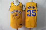 Wholesale Cheap Nike Warriors 35 Kevin Durant 2019 Gold NBA Swingman City Edition Jersey