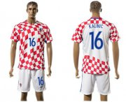 Wholesale Cheap Croatia #16 Kalinic Home Soccer Country Jersey