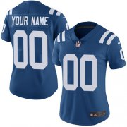Wholesale Cheap Nike Indianapolis Colts Customized Royal Blue Team Color Stitched Vapor Untouchable Limited Women's NFL Jersey