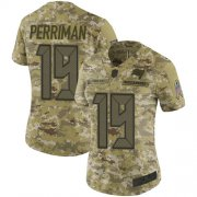 Wholesale Cheap Nike Buccaneers #19 Breshad Perriman Camo Women's Stitched NFL Limited 2018 Salute to Service Jersey