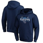 Wholesale Cheap Tennessee Titans 2019 NFL Playoffs Bound Chip Shot Pullover Hoodie Navy