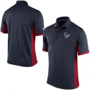 Wholesale Cheap Men's Nike NFL Houston Texans Navy Team Issue Performance Polo