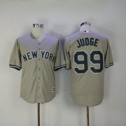 Wholesale Cheap Yankees #99 Aaron Judge Grey New Cool Base Stitched MLB Jersey