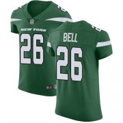 Wholesale Cheap Nike Jets #26 Le'Veon Bell Green Team Color Men's Stitched NFL Vapor Untouchable Elite Jersey