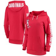 Wholesale Cheap St. Louis Cardinals G-III 4Her by Carl Banks Women's 12th Inning Pullover Hoodie Red