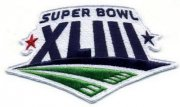 Wholesale Cheap Stitched Super Bowl 43 XLIII Jersey Patch Pittsburgh Steelers vs Arizona Cardinals