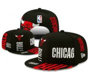 Wholesale Cheap Chicago Bulls Snapback Snapback Ajustable Cap Hat YD 6