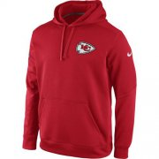 Wholesale Cheap Kansas City Chiefs Nike KO Chain Fleece Pullover Performance Hoodie Red