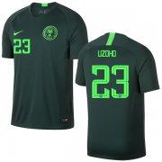 Wholesale Cheap Nigeria #23 Uzoho Away Soccer Country Jersey