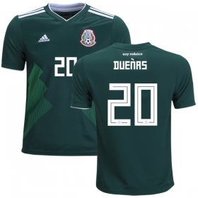 Wholesale Cheap Mexico #20 Duenas Home Kid Soccer Country Jersey