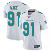 Wholesale Cheap Nike Dolphins #91 Cameron Wake White Youth Stitched NFL Vapor Untouchable Limited Jersey