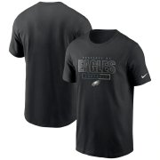 Wholesale Cheap Philadelphia Eagles Nike Team Property Of Essential T-Shirt Black