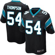 Wholesale Cheap Nike Panthers #54 Shaq Thompson Black Team Color Youth Stitched NFL Elite Jersey
