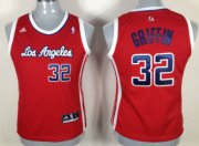Wholesale Cheap Los Angeles Clippers #32 Blake Griffin Red Womens Jersey