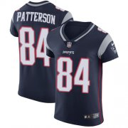 Wholesale Cheap Nike Patriots #84 Cordarrelle Patterson Navy Blue Team Color Men's Stitched NFL Vapor Untouchable Elite Jersey