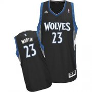 Wholesale Cheap Minnesota Timberwolves #23 Kevin Martin Black Swingman Jersey