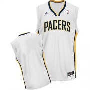 Wholesale Cheap Indiana Pacers Blank White Swingman Jersey