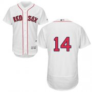 Wholesale Cheap Red Sox #14 Jim Rice White Flexbase Authentic Collection Stitched MLB Jersey