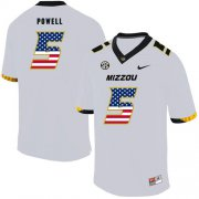 Wholesale Cheap Missouri Tigers 5 Taylor Powell White USA Flag Nike College Football Jersey