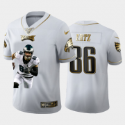 Cheap Philadelphia Eagles #86 Zach Ertz Nike Team Hero 3 Vapor Limited NFL 100 Jersey White Golden