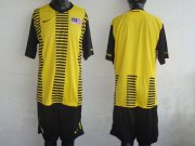 Wholesale Cheap Malaysia Blank Yellow 2011/2012 Home Soccer Country Jersey