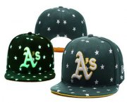 Wholesale Cheap MLB Oakland Athletics Snapback Ajustable Cap Hat 3