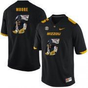 Wholesale Cheap Missouri Tigers 6 J'Mon Moore Black Nike Fashion College Football Jersey