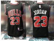 Cheap Chicago Bulls #23 Michael Jordan Black Toddlers Jersey