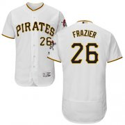 Wholesale Cheap Pirates #26 Adam Frazier White Flexbase Authentic Collection Stitched MLB Jersey