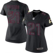Wholesale Cheap Nike Redskins #21 Sean Taylor Black Impact Women's Stitched NFL Limited Jersey