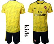 Wholesale Cheap Arsenal Blank Away Kid Soccer Club Jersey