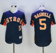 Wholesale Cheap Astros #5 Jeff Bagwell Navy Blue Flexbase Authentic Collection Stitched MLB Jersey
