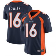 Wholesale Cheap Nike Broncos #16 Bennie Fowler Navy Blue Alternate Men's Stitched NFL Vapor Untouchable Limited Jersey