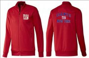 Wholesale Cheap NFL New York Giants Heart Jacket Red