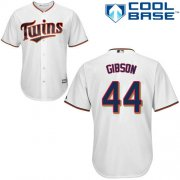 Wholesale Cheap Twins #44 Kyle Gibson White Cool Base Stitched Youth MLB Jersey