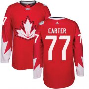 Wholesale Cheap Team Canada #77 Jeff Carter Red 2016 World Cup Stitched Youth NHL Jersey