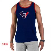 Wholesale Cheap Men's Nike NFL Houston Texans Sideline Legend Authentic Logo Tank Top Dark Blue