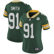Wholesale Cheap Nike Packers #91 Preston Smith Green Team Color Women's 100th Season Stitched NFL Vapor Untouchable Limited Jersey