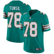 Wholesale Cheap Nike Dolphins #78 Laremy Tunsil Aqua Green Alternate Men's Stitched NFL Vapor Untouchable Limited Jersey