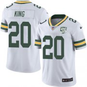 Wholesale Cheap Nike Packers #20 Kevin King White Men's 100th Season Stitched NFL Vapor Untouchable Limited Jersey