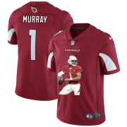 Wholesale Cheap Arizona Cardinals #1 Kyler Murray Men's Nike Player Signature Moves Vapor Limited NFL Jersey Red