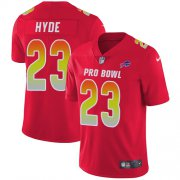 Wholesale Cheap Nike Bills #23 Micah Hyde Red Youth Stitched NFL Limited AFC 2018 Pro Bowl Jersey