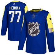 Wholesale Cheap Adidas Lightning #77 Victor Hedman Royal 2018 All-Star Atlantic Division Authentic Stitched NHL Jersey
