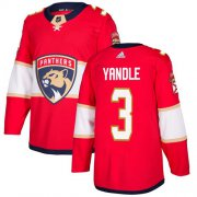 Wholesale Cheap Adidas Panthers #3 Keith Yandle Red Home Authentic Stitched Youth NHL Jersey