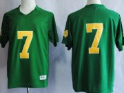 Wholesale Cheap Notre Dame Fighting Irish #7 Stephon Tuitt 2013 Green Jersey